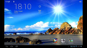 app weather screen live wallpaper de