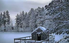 hd wallpaper peaceful winter scene