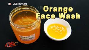 homemade orange face wash recipe face