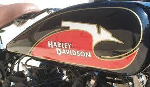 Harley Davidson 5922 33 Fuel Gas Petrol Tank Decal Vl Rl Single 1933 Cream Retro