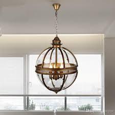 vintage loft globe pendant lights