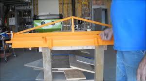 home made sheet metal brake sheet