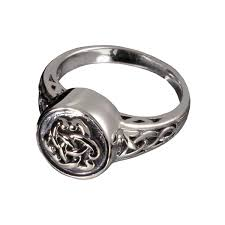 pet cremation jewelry celtic ring