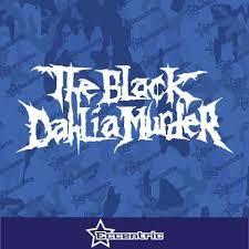 The Black Dahlia Murder Decal Vinyl Sticker Eccentric Mall
