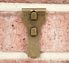 brick clips brick hanger brick wall