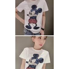 Áo thun nữ hình chuột mickey dễ thương - ATX190710 giảm chỉ còn 285,000 đ