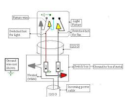 ceiling fans switch wiring diagram