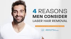 laser hair removal for men you
