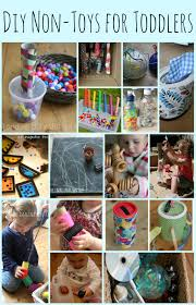 15 diy non toys for toddlers the