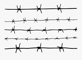 Barb Wire Clipart Transparent Background Easy To Draw Barbed Wire Free Transparent Clipart Clipartkey