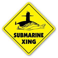 Submarine Crossing 3 Pack Of Vinyl Decal Stickers For Laptop Car Walmart Com Walmart Com