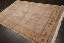 ivory hand knotted area rug