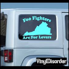 Foo Fighters Are For Lovers Decal