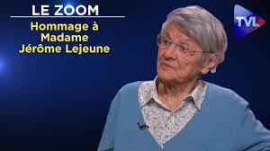 Hommage à Madame Jérôme Lejeune : un combat pour la Vie ...