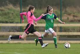 Alison Nicholl's U-17 side lose 2-0 to Scotland | IFA