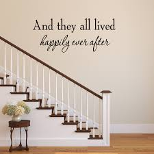 Vwaq And They All Lived Happily Ever Vinyl Wall Decal Wayfair