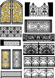 ᐈ Gothic Motif Stock Vectors Royalty Free Gothic Style Fence Illustrations Download On Depositphotos