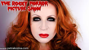 rocky horror picture show makeup