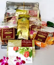 big island hawaiian gift baskets and bags