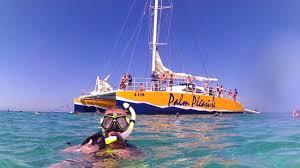 de palm tours catamaran sails from
