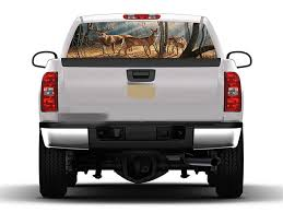 New Car Pickup Suv Rear Window Graphic Decal Forest Animals Deer Family Sticker Archives Statelegals Staradvertiser Com