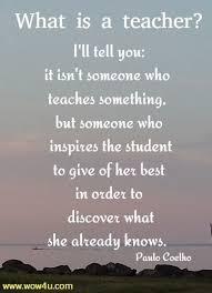teacher quotes inspirational words of wisdom