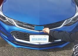 Colormatch Bowtie Badge Wrap Kit Fits Chevy Cars Camaro Impala Cruze Malibu Sonic Decaldino