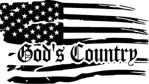 God S Country Distress Flag Decal In 2020 Flag Decal Distressed Flag Custom Graphics