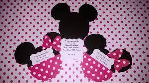 Invitaciones De Cumpleanos De Minnie Mouse En Hd Gratis Para Bajar