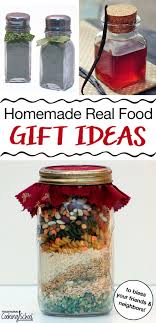 tasty homemade real food gift ideas to