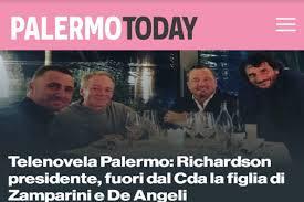 Telenovela Palermo: Richardson presidente, fuori dal Cda la figlia ...