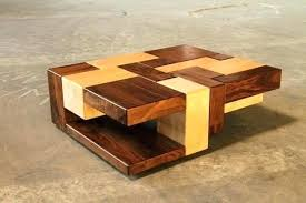 cool wooden coffee tables easy craft