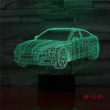 Super Car 3d Night Light Racing Car Usb Led Table Lamp 3d Illusion Lamp Children Kids Bedroom Decor Sitting Room Lights Aw 1145 Mobile Online Shopping Latest Gadgets From Wei4134 50 62 Dhgate Com