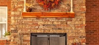placing a mantel shelf over a fireplace