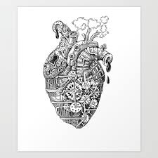 steunk heart valentine gift idea