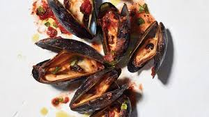 Mussels in Spicy Tomato Broth Recipe ...