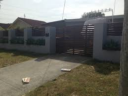 Perimeter Wall And Gates Metal Fence Gates Fence Design Outdoor Walls