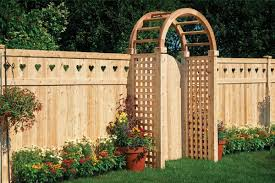 Adding A Decorative Top To Privacy Fencing All Around Fence