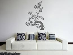 Ik350 Wall Decal Sticker Japanese Bonsai Tree Kitchen Kids Bedroom Wall Decal Sticker Sticker Decor Wall Decals