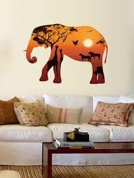 Elephant Bubbles Wall Decal Australia Etsy Art Pink Canada Vinyl Indian Vamosrayos