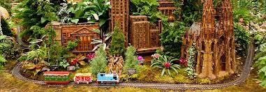 holiday train show nybg nuevo york