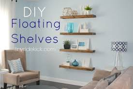 ideas for floating shelves floating