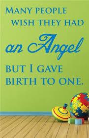 Angel Baby Wall Decal 0094 Angel Baby Memorial Angel Baby Wall Art Wall Decal Studios Com