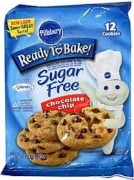 pillsbury sugar free chocolate chip
