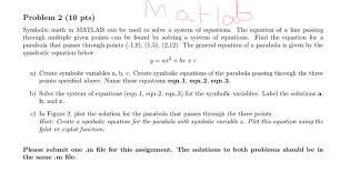 symbolic math in matlab