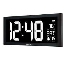 wall clocks clocks the home depot