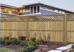 100 Lattice Top Fence Material List At Menards