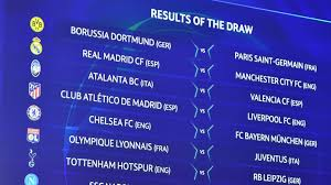 Sorteggio ottavi: Atalanta-Valencia, Lione-Juventus, Napoli-Barça   UEFA Champions  League