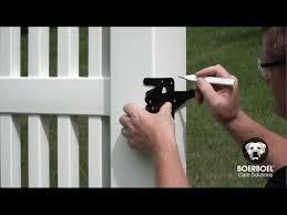 How To Install A Boerboel Heavy Duty Gate Latch Youtube