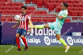 Jorge Molina Granada CF Stefan Savic Atletico Editorial Stock Photo - Stock  Image